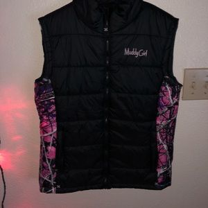 Jackets & Blazers - Muddy girl camo vest